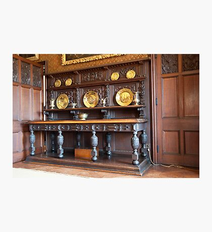 Sideboard, Dining Room: Scotney Castle.  Photographic Print