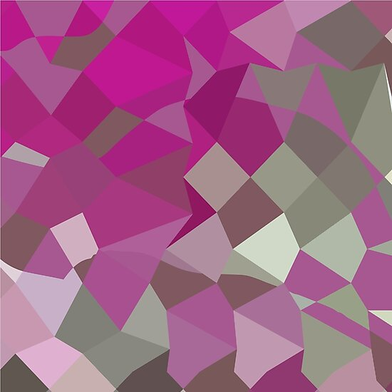 Dark Lavender Abstract Low Polygon Background by retrovectors