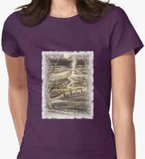 'Fantasy by moonlight' Womens Fitted T-Shirt