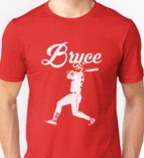 Bryce Harper Phillies - White Stencil Unisex T-Shirt
