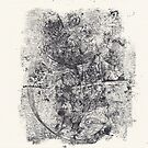 Series Nightmare #4 - Oh my...! - Monotype by Pascale Baud