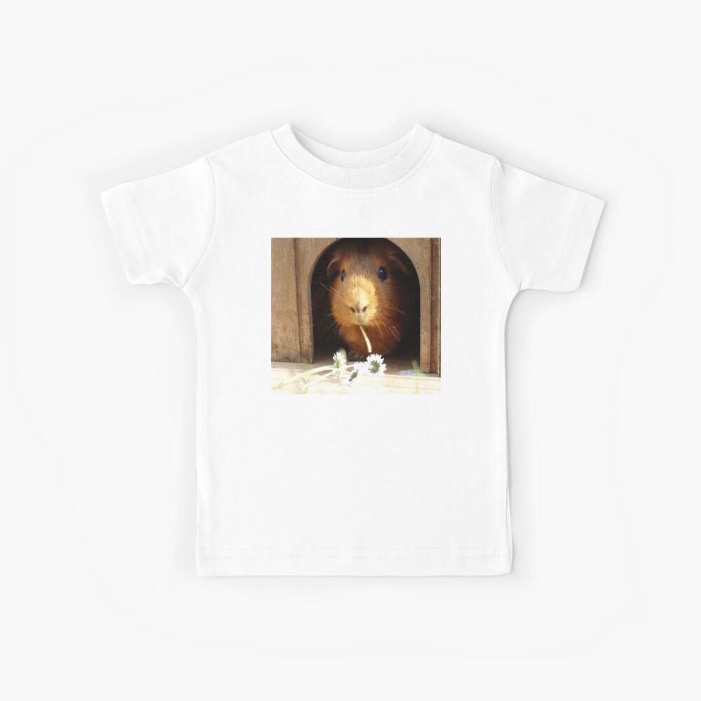 Super niedliches Meerschweinchenessen Kinder T-Shirt