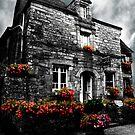 Old House in Rochefort-en-Terre, Brittany, France by Buckwhite