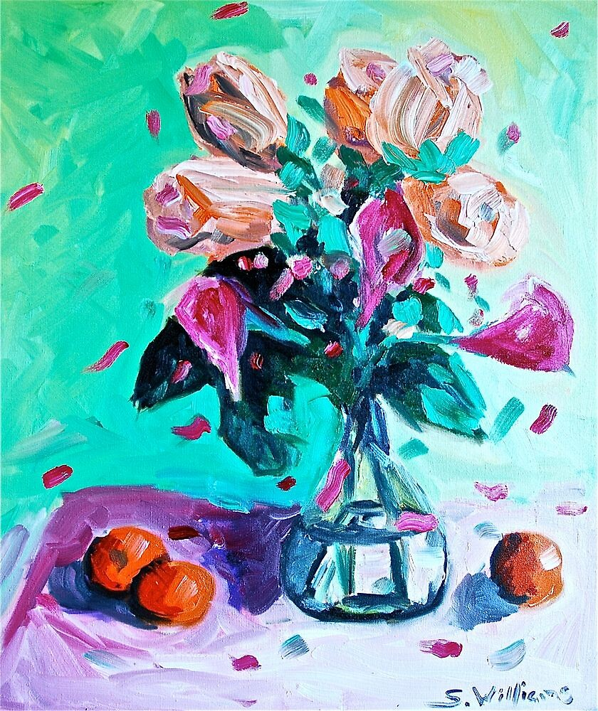 Roses and Trumpets by Sonny  Williams