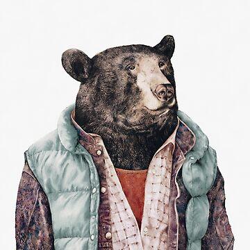 Black Bear (Green) by AnimalCrew