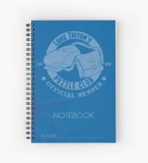 Luke Triton's Puzzle Club Notebook Spiralblock