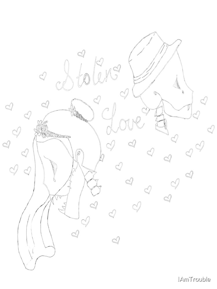 Stolen love skeletons by IAmTrouble