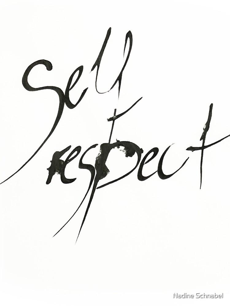 Self Respect von gefuehltefarben