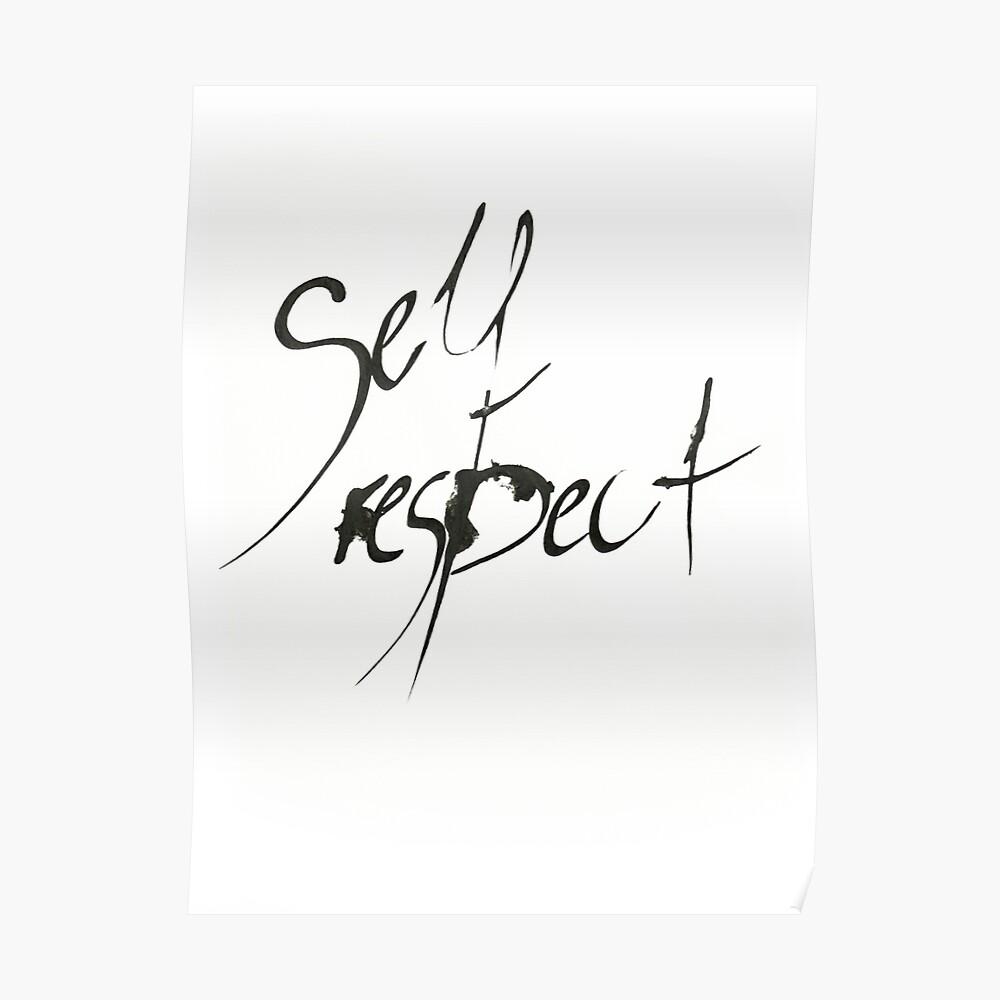 Self Respect Poster