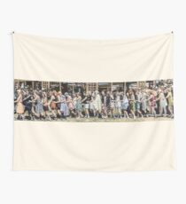Swimsuit Parade, Seal Beach, California July 14th 1918 Wall Tapestry