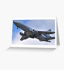 USAF: McDonnell Douglas KC-10A Extender Greeting Card