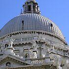 Dome Of The Santa Maria della Salute Basilica, Venice by lezvee