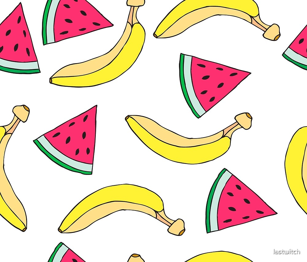 Bananas and Watermelon by lastwitch