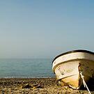 Fishing Boat at Sunset, Qantab, Oman by MattGrover