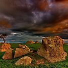"""""""Tempest At The Rocks"""" by Phil Thomson IPA"""