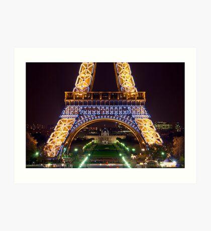 Eiffel Militaire Art Print