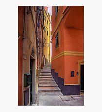 "Lerici - Tipical ""Carobbio"" (Alley) Photographic Print"