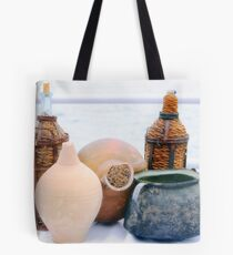 Traditional Greek Tableware Tote Bag