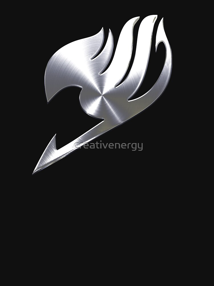 Metal Fairy Tail Guild Symbol by creativenergy