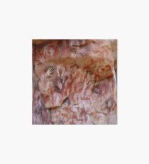 Cave painting, parietal art, paleolithic cave paintings Art Board