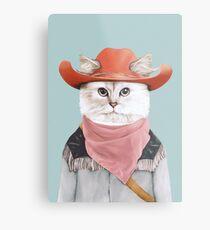 Rodeo Cat Metallbild