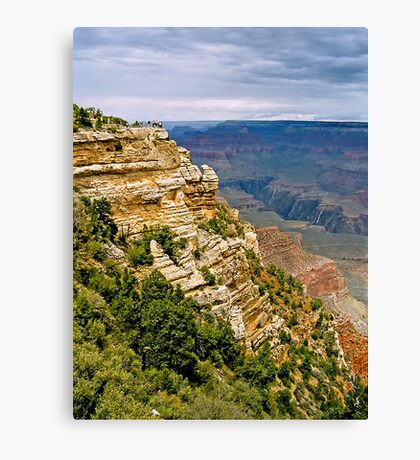 The Grand Canyon Series  - 1  How Great Thou Art! Canvas Print