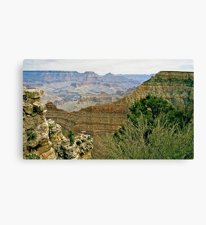 The Grand Canyon Series  - 6 To The East Canvas Print