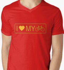 i love my bike Men's V-Neck T-Shirt