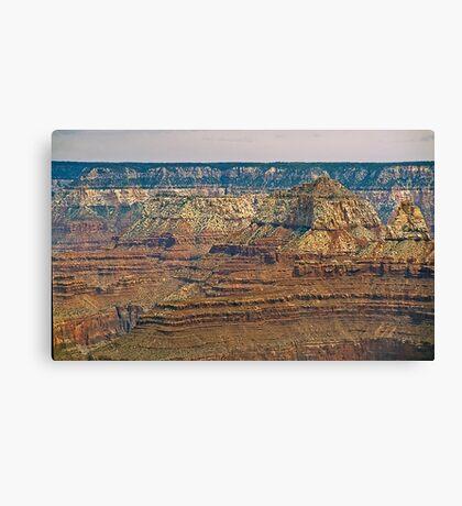 The Grand Canyon Series  - 9 Canyon Walls Canvas Print