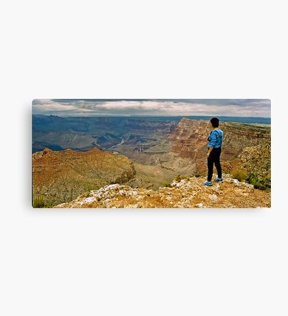 The Grand Canyon Series  - Anne's Canyon Canvas Print