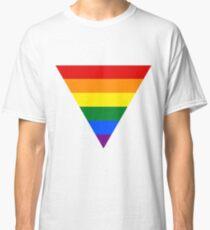LGBT triangle flag Classic T-Shirt