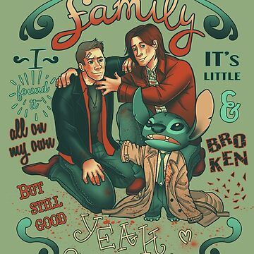 Supernatural family by angicita