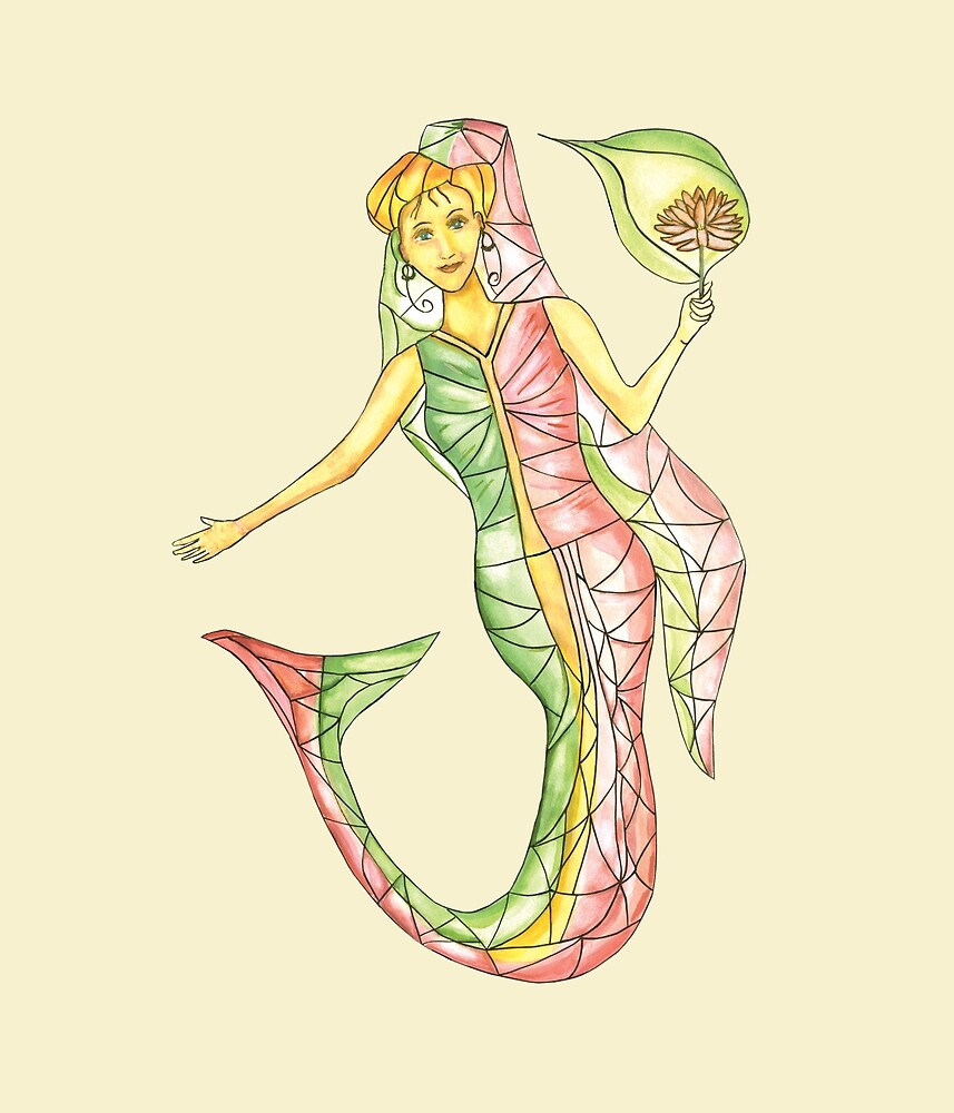 Mermaid stories by Thecla Correya