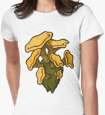 Chanterelles Womens Fitted T-Shirt