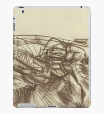 abstract empty landscape iPad Case/Skin
