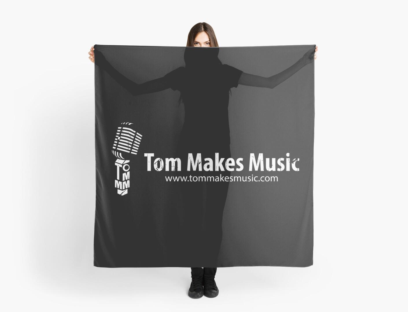 Tom Makes Music - Logo by Patrick Watson