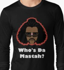 Sho Nuff the shogun of Harlem! Glow edition. Long Sleeve T-Shirt