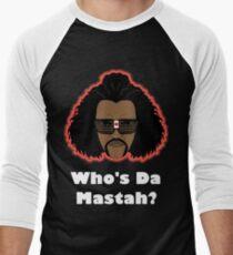 Sho Nuff the shogun of Harlem! Glow edition. Men's Baseball ¾ T-Shirt