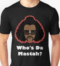 Sho Nuff the shogun of Harlem! Glow edition. T-Shirt