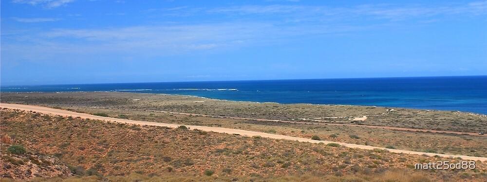 Ningaloo Reef Coastline by matt25od88