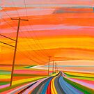 Sunset on Old Montauk Highway, Endless Summer by Grant Haffner