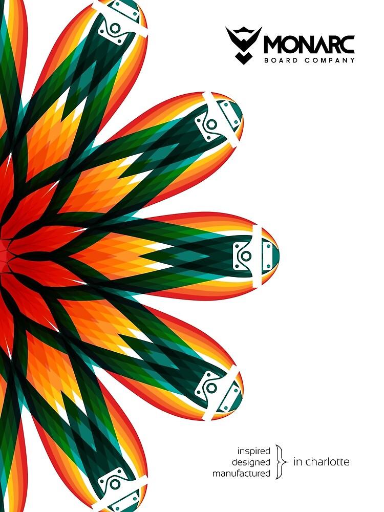 Monarc Color Wheel Poster by monarc