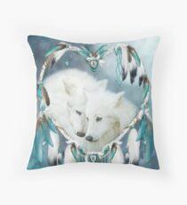 Heart Of A Wolf Throw Pillow