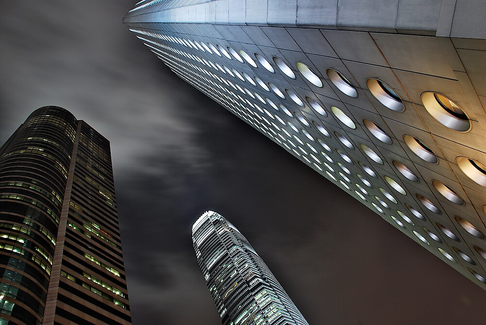 Hong Kong From Below by aaronsmith