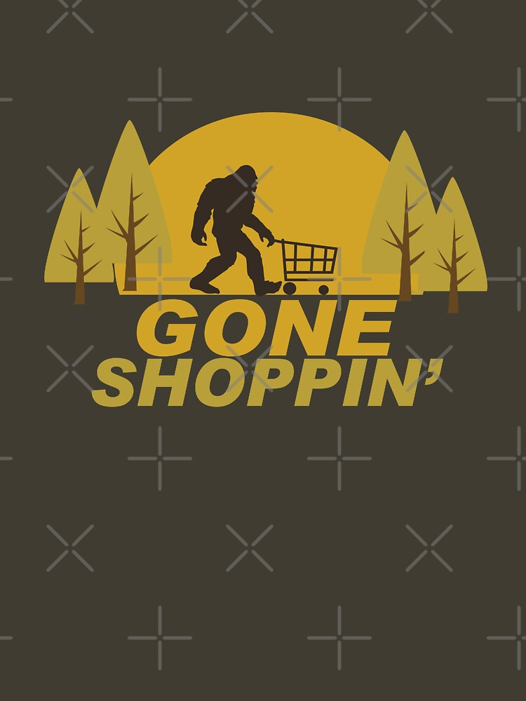 Gone Shoppin Squatch Hunter by Ricaso