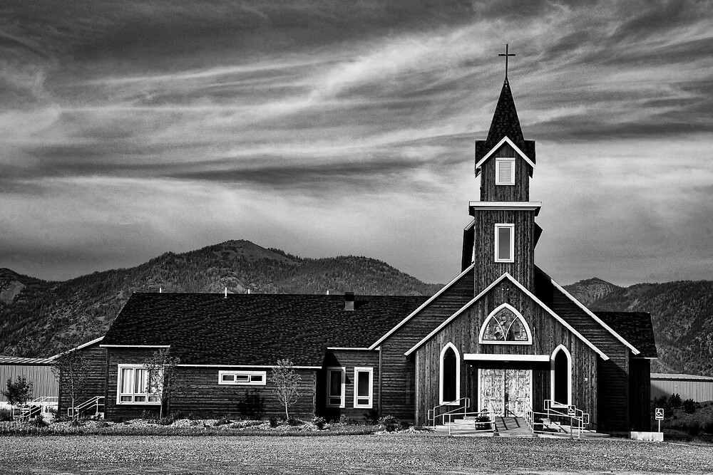 Holy Family Catholic Church by Hugh Smith