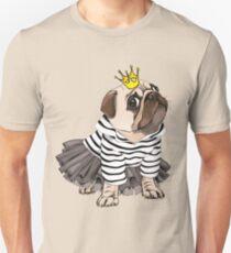 Pug Princess  Unisex T-Shirt
