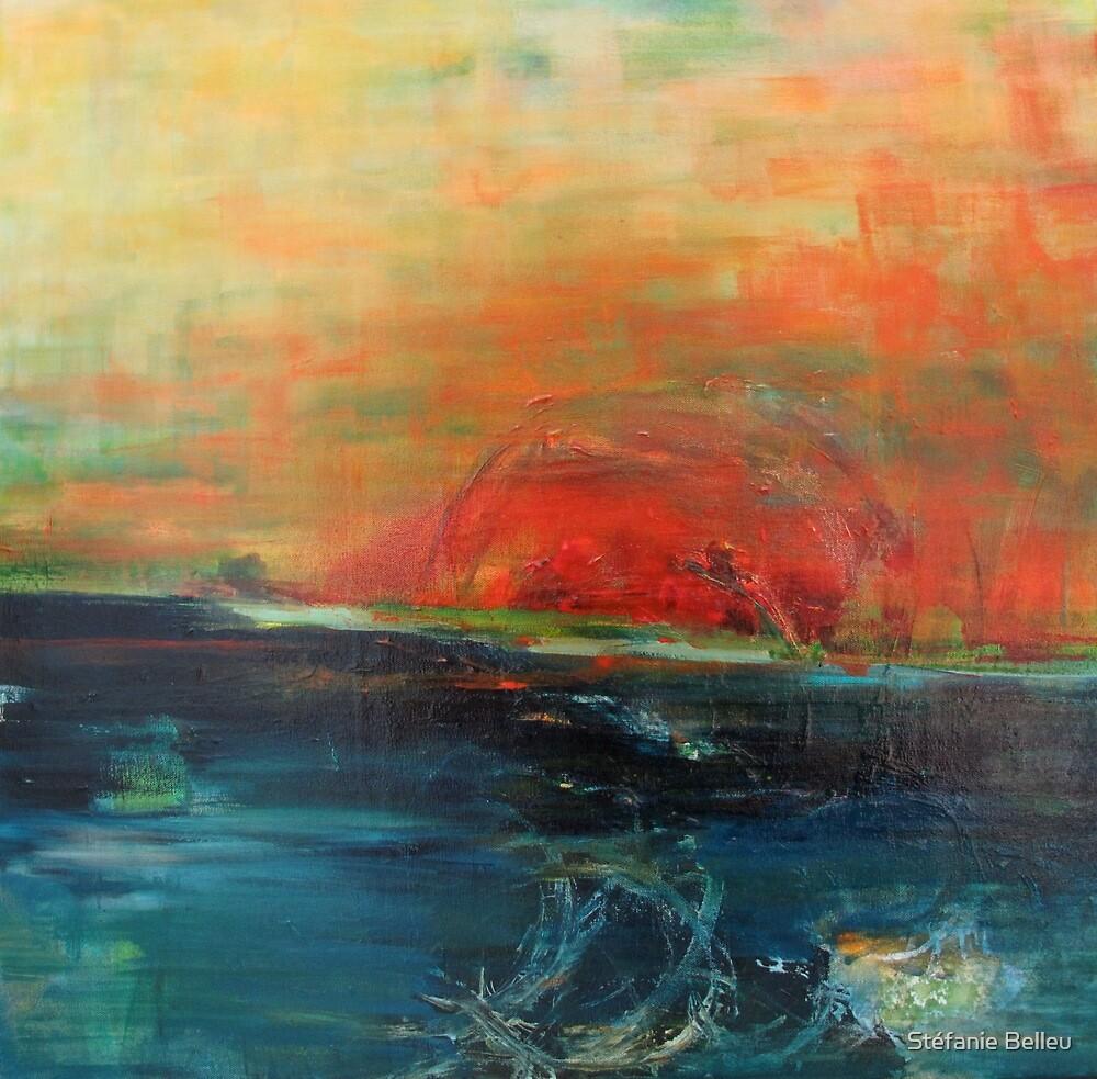 Horizon tumultueux by Stéfanie Belleu