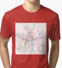 Berlin Metro Tri-blend T-Shirt