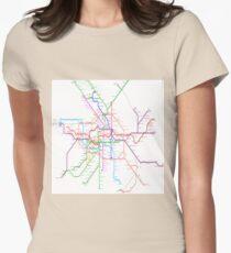Berlin Metro Women's Fitted T-Shirt